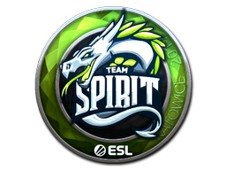 Sticker   Team Spirit (Foil)   Katowice 2019