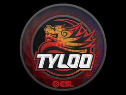 Наклейка | Tyloo (голографическая) | Катовице 2019