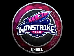 Sticker   Winstrike Team (Foil)   Katowice 2019