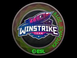 Sticker   Winstrike Team (Holo)   Katowice 2019