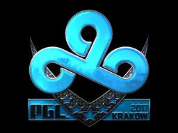 Sticker   Cloud9 (Foil)   Krakow 2017