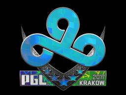Sticker   Cloud9 (Holo)   Krakow 2017