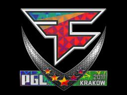 Sticker | FaZe Clan (Holo) | Krakow 2017