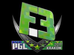 Sticker   Flipsid3 Tactics (Holo)   Krakow 2017
