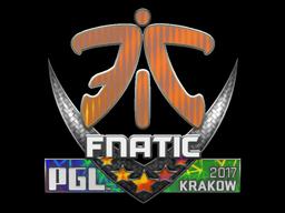 Sticker | Fnatic (Holo) | Krakow 2017