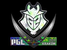 Sticker   G2 Esports (Holo)   Krakow 2017