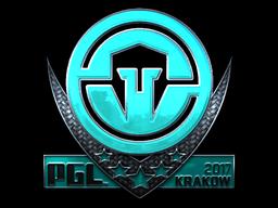 Sticker   Immortals (Foil)   Krakow 2017