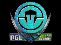 Sticker   Immortals (Holo)   Krakow 2017