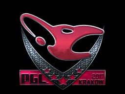 Sticker   mousesports (Foil)   Krakow 2017