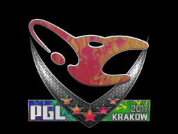 Sticker   mousesports (Holo)   Krakow 2017