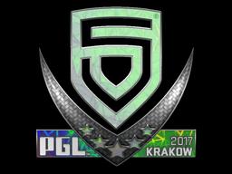 Sticker   PENTA Sports (Holo)   Krakow 2017