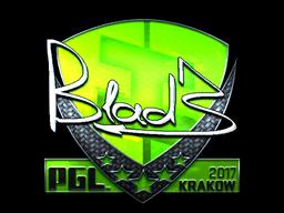 Sticker | B1ad3 (Foil) | Krakow 2017