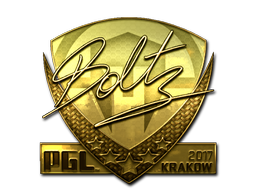 Sticker | boltz (Gold) | Krakow 2017