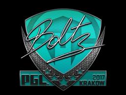 Sticker | boltz | Krakow 2017