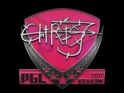 Sticker | chrisJ | Krakow 2017