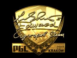 Sticker | Edward (Gold) | Krakow 2017