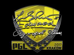Sticker | Edward | Krakow 2017