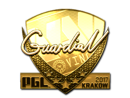 Sticker | GuardiaN (Gold) | Krakow 2017
