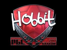 Sticker | Hobbit (Foil) | Krakow 2017
