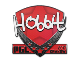 Sticker | Hobbit | Krakow 2017