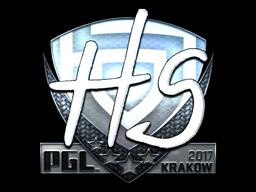 Sticker | HS (Foil) | Krakow 2017