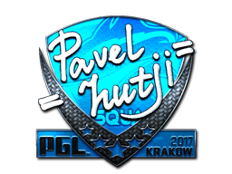 Sticker | hutji (Foil) | Krakow 2017