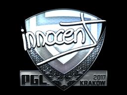 Sticker | innocent (Foil) | Krakow 2017