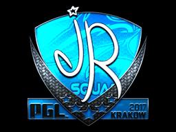 Sticker | jR (Foil) | Krakow 2017