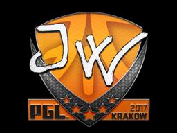 Sticker | JW | Krakow 2017