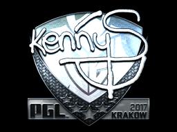 Sticker | kennyS (Foil) | Krakow 2017
