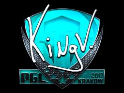 Sticker | kNgV- (Foil) | Krakow 2017