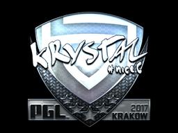 Sticker | kRYSTAL (Foil) | Krakow 2017