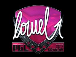 Sticker | loWel (Foil) | Krakow 2017