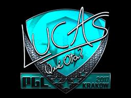 Sticker | LUCAS1 (Foil) | Krakow 2017