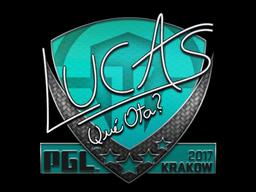 Sticker | LUCAS1 | Krakow 2017