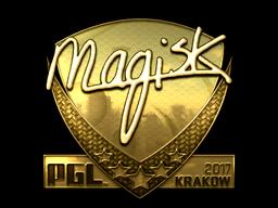 Sticker | Magisk (Gold) | Krakow 2017