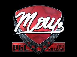 Sticker | mou (Foil) | Krakow 2017