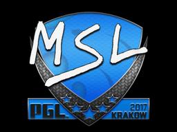 Sticker | MSL | Krakow 2017