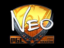 Sticker | NEO (Foil) | Krakow 2017