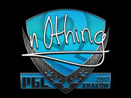 Sticker | n0thing | Krakow 2017