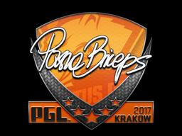 Sticker | pashaBiceps | Krakow 2017