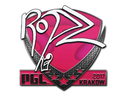 Sticker | ropz | Krakow 2017