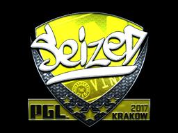 Sticker | seized (Foil) | Krakow 2017