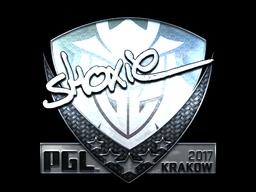 Sticker | shox (Foil) | Krakow 2017