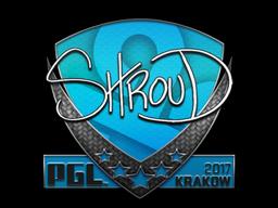 Sticker | shroud | Krakow 2017