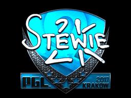 Sticker | Stewie2K (Foil) | Krakow 2017