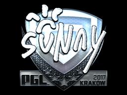 Sticker | suNny (Foil) | Krakow 2017