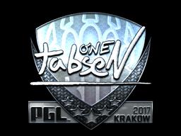 Sticker | tabseN (Foil) | Krakow 2017