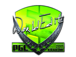 Sticker | WorldEdit (Foil) | Krakow 2017