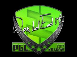 Sticker | WorldEdit | Krakow 2017